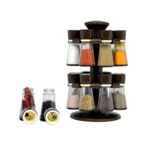 Revolving Plastic Spice Rack