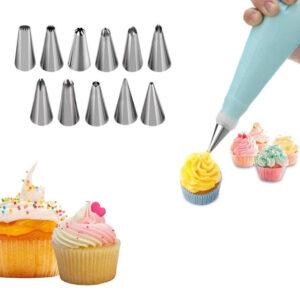Cake Decorating Piping Bag Nozzles