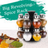 Revolving Plastic Spice Rack Big
