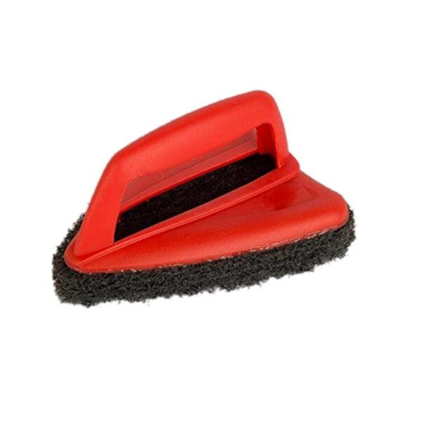 Bathroom Brush with abrasive scrubber