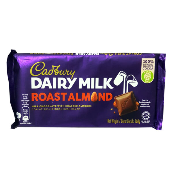Cadbury Dairy Milk Roast Almond Bar