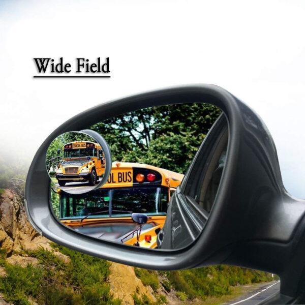 Adjustable Convex Rear View Mirror