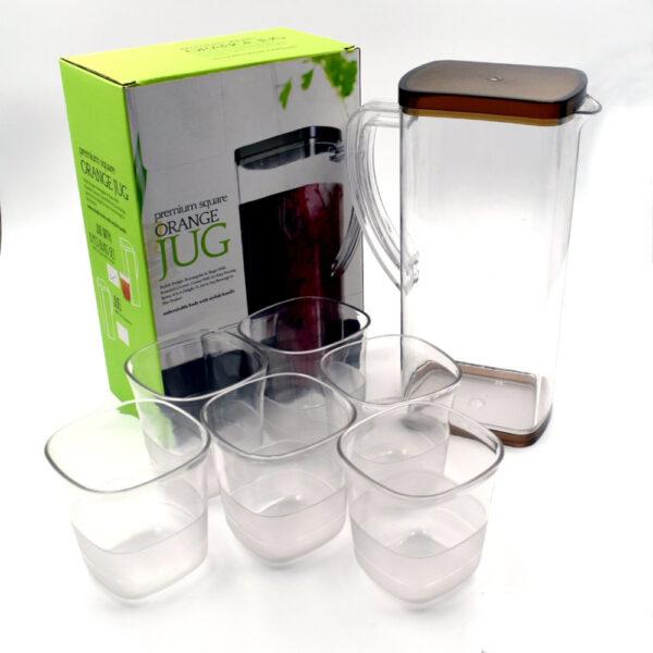 Resistant Glass Jug for Juice