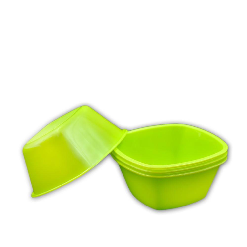 Square Plastic Bowl