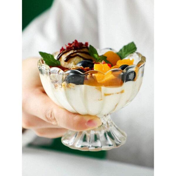 Ice Cream Salad Fruit Bowl